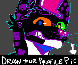 draw your profile picture