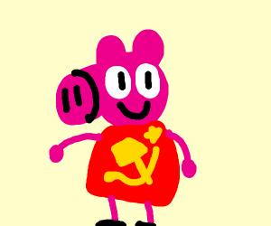 peppa pig is a communist