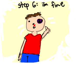 step 5: get punched in the face