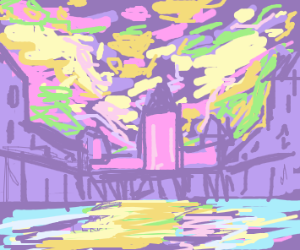 Theres green beyond the purple kingdom