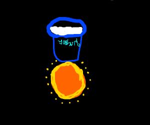 Yogurt on the Sun