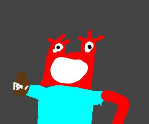 Mr Krabs goes on a drug binge