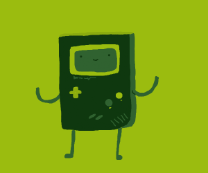 gameboy but it looks like bmo