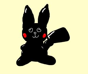 Glossy Black Pichu