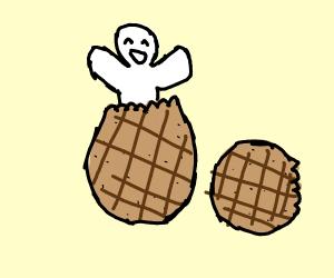 Guy in a peanut