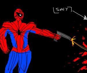 spider man kills someone