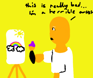 mr. clean cant appreciate his own art