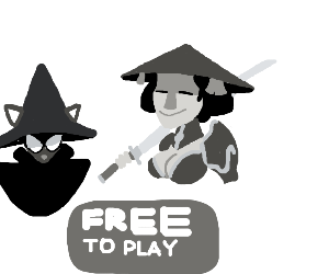 rpg with a girl and a cat mage