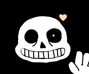 Sans from Undertale.