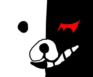 Daganronpa bear (monokuma)