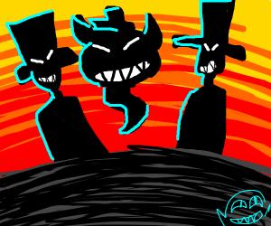 Top hat gang