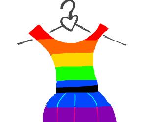 gay dress