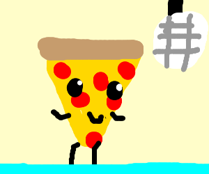 Dancing pizza slices