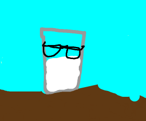 Milk with Glasses