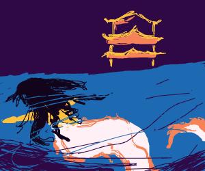 Mermaid in Japan