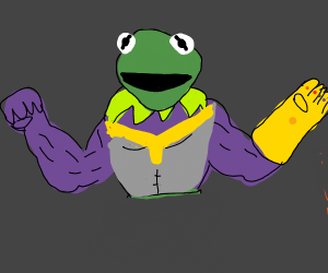 Kermit is Thanos