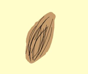 A simple almond