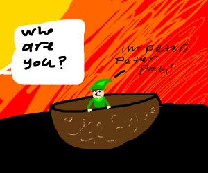 Peter Pan in a Bowl