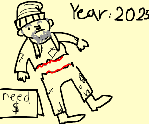 Homeless people in 2025