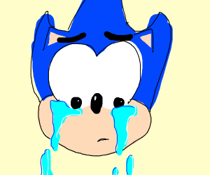 crying sonic