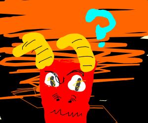 Confused demon