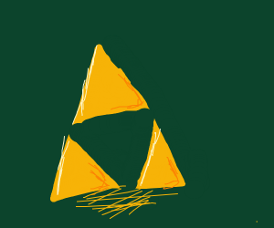 The triforce from Zelda