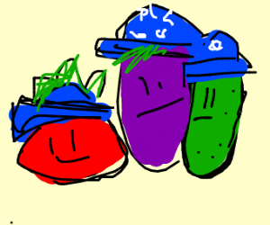 autistic vegetable family