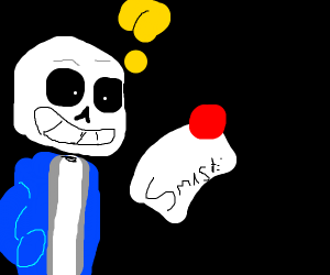 Sans gets invited to Smash