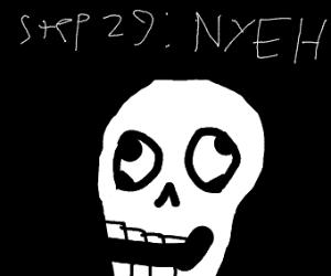 step 28: make spaghetti as papyrus