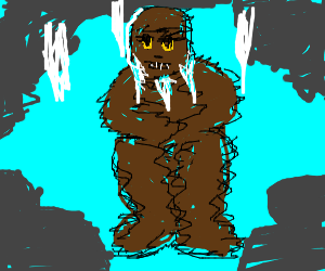 Bigfoot is cold