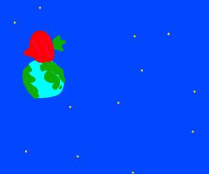 big radish on top of the world