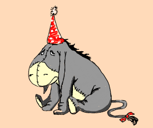 eeyore's birthday is forgotten