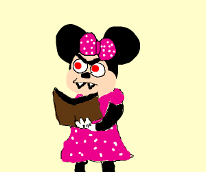 evil minnie mouse