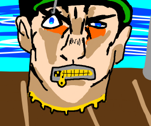 jotaro's disembodied head