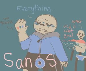 thanos-sans