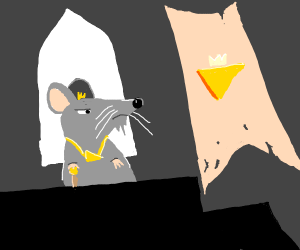 Bearded Mouse, King of Cheese Kingdom.