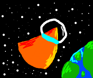 Space dorito