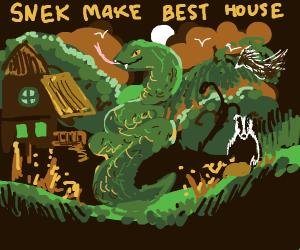 Snek House  BEST HOUSE