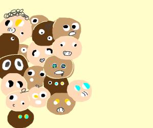 horde of babies
