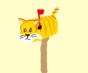 cat mailbox kawaii