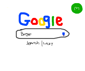 Google for a burger