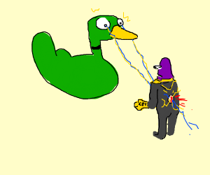 Thanos weakness, Ducks