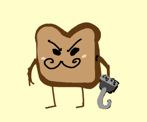 evil bread with BIG BOI HOOK