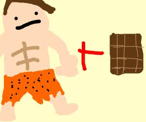 caveman plus chocolate