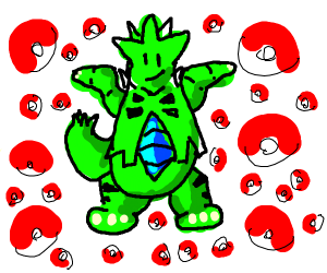 Shrugging Tyranitar