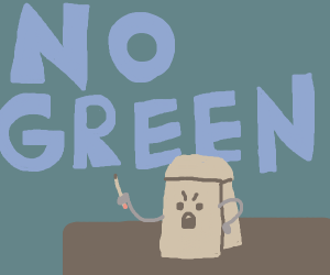 Green is not a creative color (DHMIS)