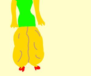 Marge never skips leg day, Homie!