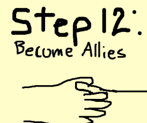 Step 11:Make peace with them