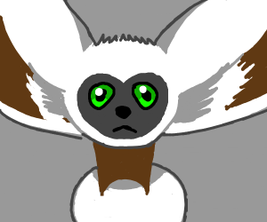 last air bender lemur