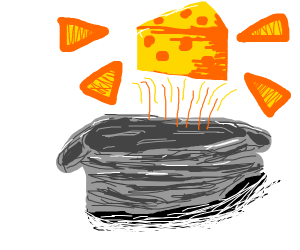 Cheese in the bag